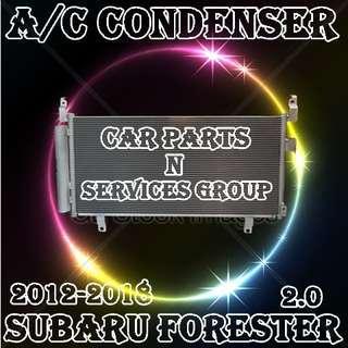 Subaru Forester 2012-2018 2.0  Air con Condenser  Car Air Con Workshop Services and Repair