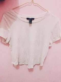 #paydaymaret f21 tshirt baby pink