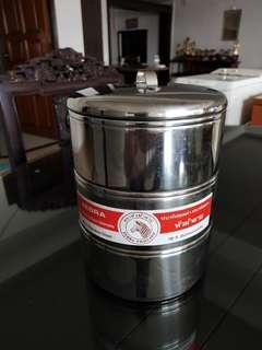 Zebra 18-8 Stainless Steel Tiffin 3-tiers