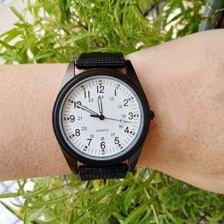 New: 41mm Stealth Style Watch - Black Case Colour