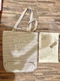 🚚 棉麻購物袋/收納袋套組