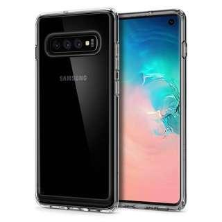 🚚 Spigen Samsung S10 Crystal Hybrid Case (Authentic)
