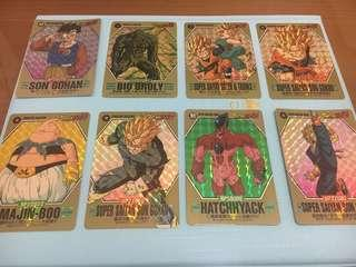 Dragonball Card Barcode and Character Collection