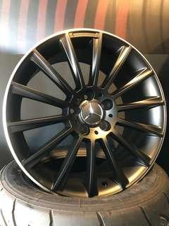 """BN Mercedes 18"""" Rims, 5x112, 18""""x8.5"""", Offset 45"""
