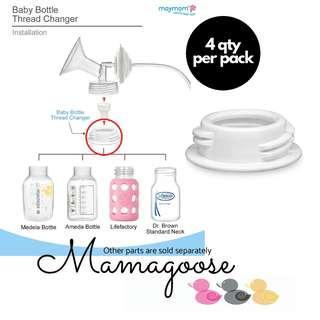 Maymom Bottle Adapter/ Adapter/ Converter for Avent Spectra breast pump bottle