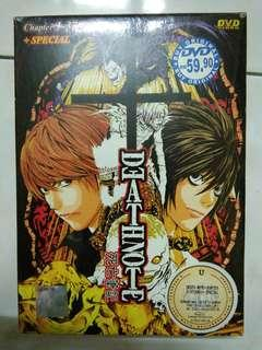Death Note DVD Ep. 1-37(END) + special