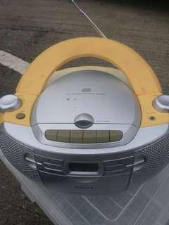 Philips ,CD.radio,卡式机三合一