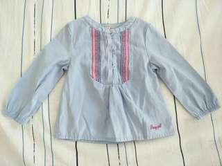 Poney - Long Sleeves Top (0-6 months)