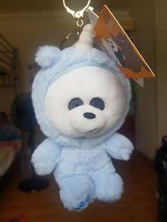 We Bare Bears Panda keychain plush