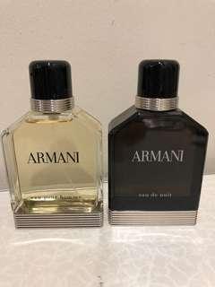 Armani Classic & Armani Nuit 100ml
