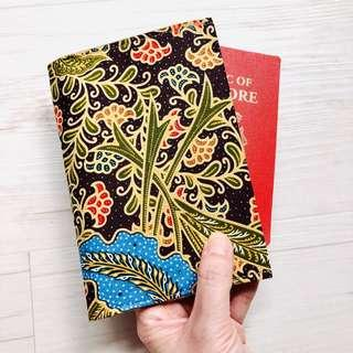 🚚 Batik Passport Holder Handmade in Singapore