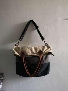 🚚 Korean Canvas Tote Bag