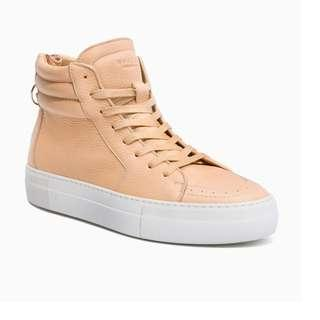 🚚 Brand New BUSCEMI Iconic Mid Top Leather Sneakers 140MM ZIP