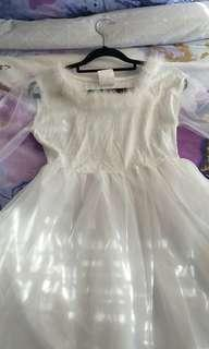 White Angel costume dress