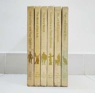 Lot Sale: 6 Volumes 1974 The Child's World Hardcover Encyclopedia / Books #50TXT