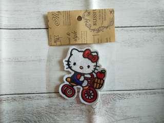 Hello Kitty Iron On Patches