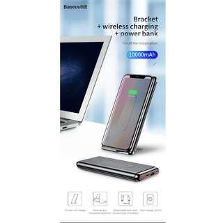 🚚 Baseus 10000mAh QC3.0 Wireless Charging Power Bank