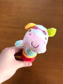 Baby toy squek (kalau dipencet bunyi)