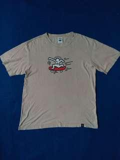 T-Shirt Keith Haring Skate art