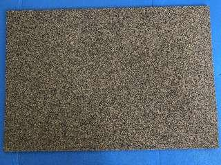 Rubberized Cork sheet (washable)