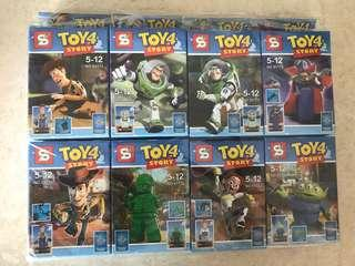 Toy story figurines