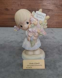 Precious Moments Figurine - Thanks a Bunch