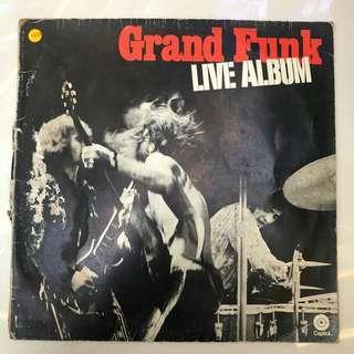 Grand Funk Live CD