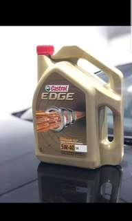 Castrol 5w40 fst titanium fully synthetic oil servicing
