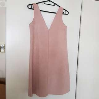 Zara Pink Work Dress size M