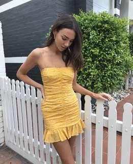 Bec & Bridge marigold fields dress