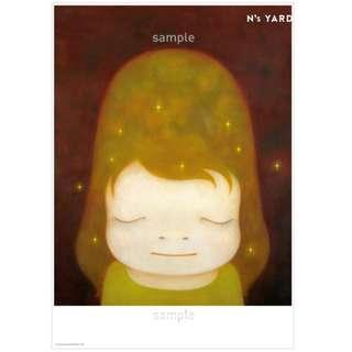 奈良美智 限定 Poster  一套兩款 海報 畫