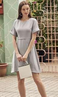 The Closet Lover - Demi Asymmetrical Dress in Lilac