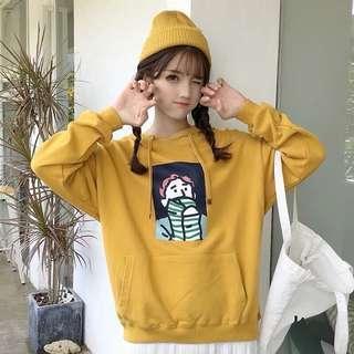 Yellow Hoodie Mark