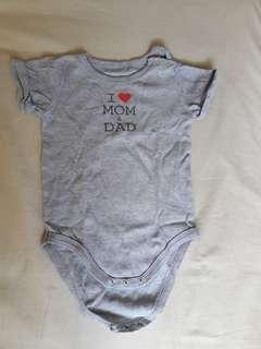🚚 Baby onesie - Fox (9 months)