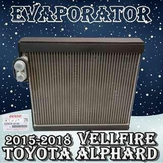 Toyota Alphard Vellfire 2015-2018 ~AGH30 Denso Evaporator Coil Made in Japan Car Air Con Workshop Services and Repair