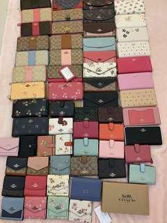 (18/03/19)Authentic coach women wallet Tory Burch sling purse clutch
