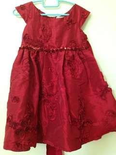 🚚 Red formal dress
