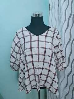 Plaid Corporate Top