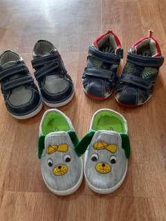 Baby Boy Shoes Bundle 3 Pairs for 6mo+