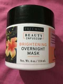 Freeman Brightening Overnight mask