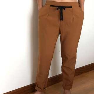 Vintage brown taped pant
