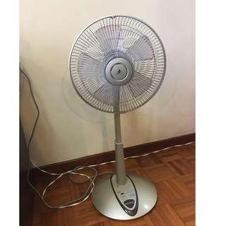 Fan with remote controller