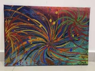 Painting - Fireworks