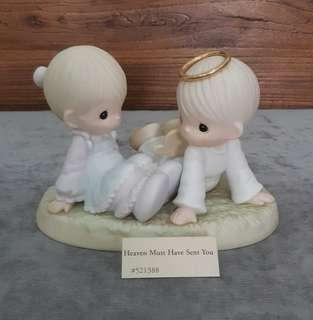 Precious Moments Figurine - Heaven Must Have Sent You