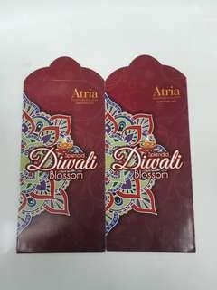 Angpao packet sampul duit deepavali Atrial Mall