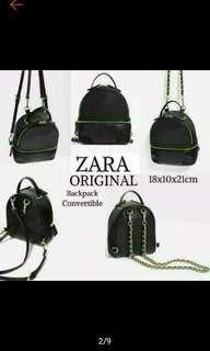 Zara original backpack impor