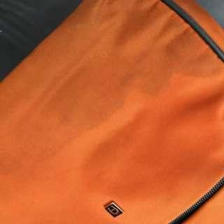 Aigner canvas shoulder bag