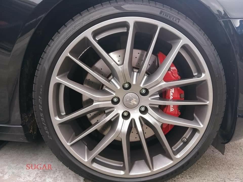 14年式Maserati Quattropote 3.8 GTS
