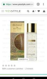 Bio Essence 24K Bio Gold GOLD WATER