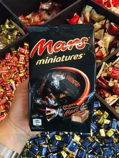 SNICKERS AND MARKS MINIATURES
